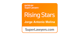 immigration lawyers rising stars badge